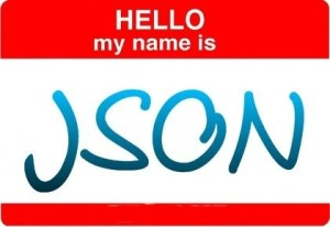 Hello, my name is JSON