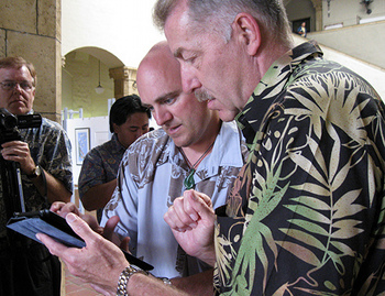 Honolulu Mayor Peter Carlisle