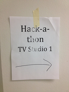 This way to the hackathon