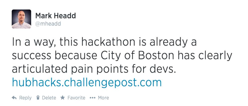 HubHacks-tweet