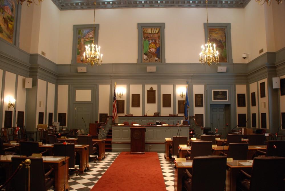 Delaware State Senate Chamber