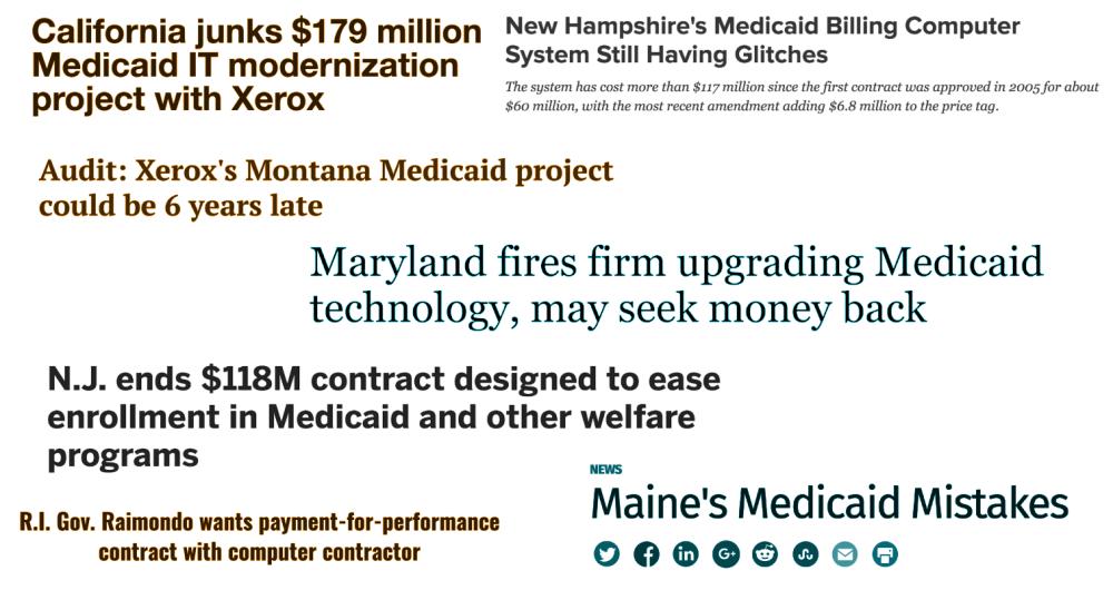 Medicaid mistakes